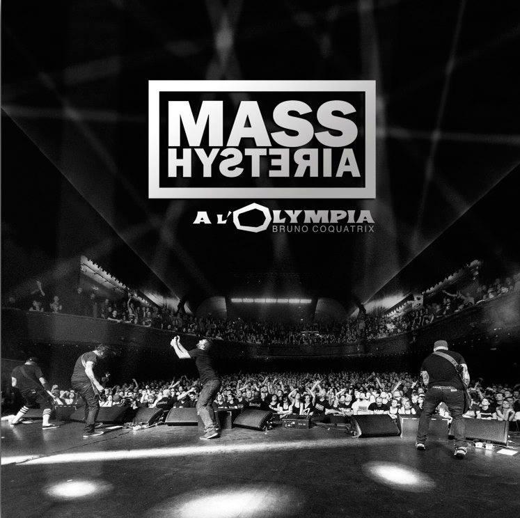 pochette Mass Hysteria Live à l'Olympia