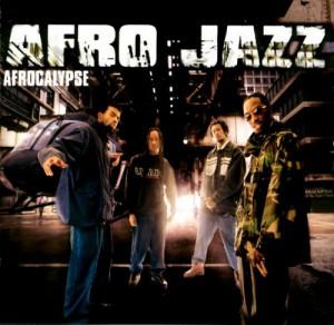 Afro Jazz - Afrocalypse Pochette CD