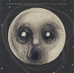 Front cd cover of The Raven That Refused to Sing : cold drawing of the faced moon